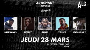 Joe Lucazz • Vehika • Senti' • Hemay • Huji Lynch - ALG PARIS