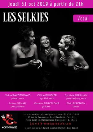 Les Selkies au Jazz Café Montparnasse