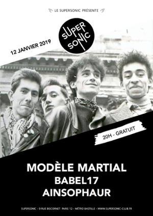 Modèle Martial • Babel17 • AinSophAur / Supersonic - Gratuit