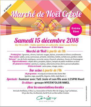 Marché de Noël créole