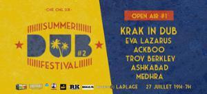 Summer Dub Festival - Open air gratuit KRAK IN DUB, Ashkabad