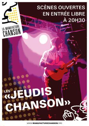 Les Jeudis Chanson de la Manufacture Chanson