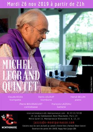 Michel Legrand 5tet, Hommage à Michel Legrand au Jazz Café