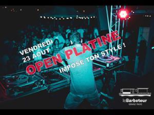 Open Platine au Barboteur !