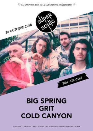 Big Spring • Grit • Cold Canyon / Supersonic - Free