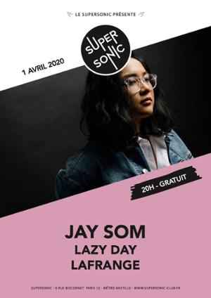 Jay Som • Lazy Day • LaFrange / Supersonic (Free entry)
