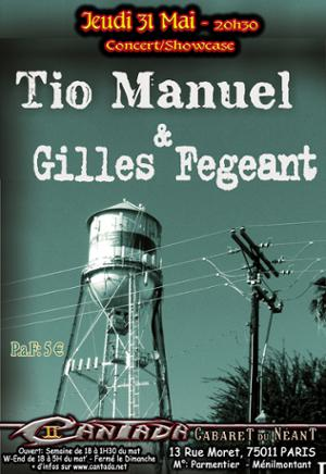 TIO Manuel Et Gilles Fegeant - Showcase