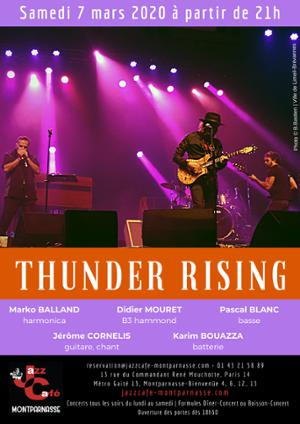 Thunder Rising au Jazz Café Montparnasse