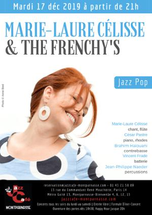 Marie-Laure Célisse & The Frenchy's, sortie d'album au Jazz Café Montparnasse