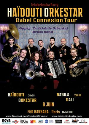 Hadouti Orkestar + Nabila Dali