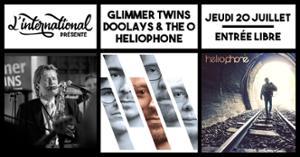 Heliophone • Glimmer Twins • Doolays & the O