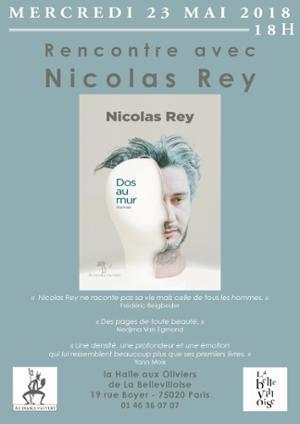RENCONTRE-DÉDICACE : NICOLAS REY