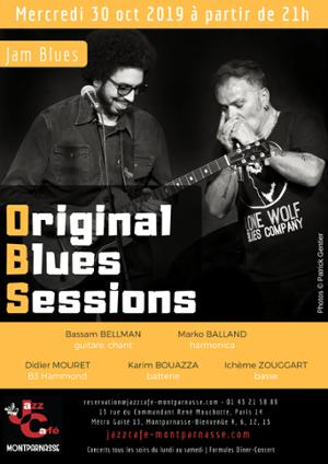 Original Blues Session au Jazz Café Montparnasse