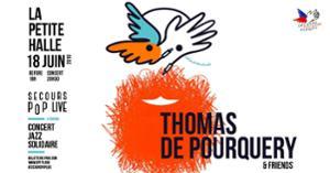 Concert solidaire : Thomas de Pourquery & friends