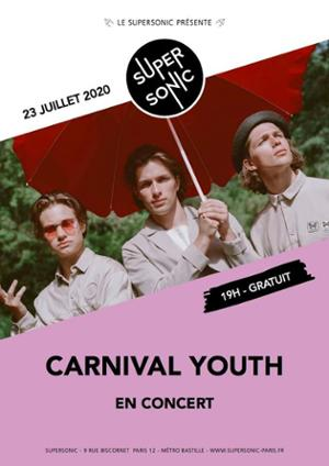Carnival Youth en concert au Supersonic (Free entry)