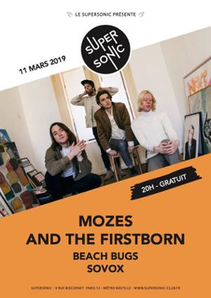 Mozes and the Firstborn (Grunge Garage Pop - Burger Records)