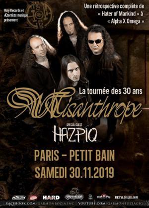 Misanthrope '30 ans', Hazpiq // Paris