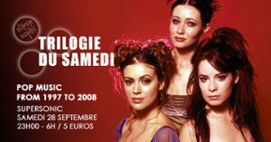 Trilogie du Samedi #19 // Nuit 90s 2000s du Supersonic