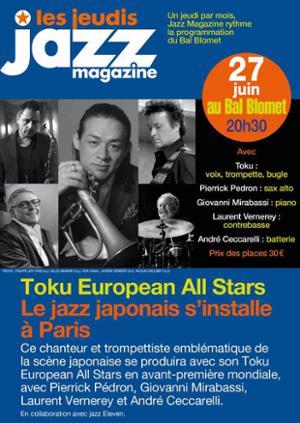 TOKU EUROPEAN ALL STARS – LES JEUDIS JAZZ MAGAZINE