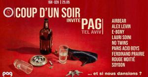 Coup d'un Soir invite Pag