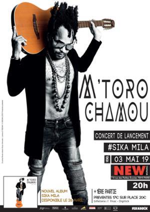 L'artiste mahorais M'Toro Chamou revient avec un nouvel album au style Afro M'Godro Rock