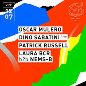 Concrete: Oscar Mulero, Dino Sabatini (live), Patrick Russell