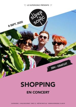 Shopping • Tisiphone • Catisfaction / Supersonic (Free entry)