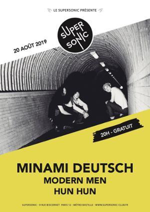 Minami Deutsch 南ドイツ • Modern Men • Hun Hun / Supersonic (Free)