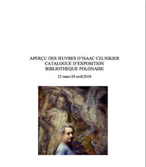 Exposition du peintre Isaac Celnikier