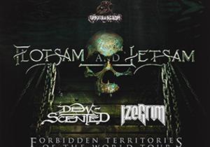 FLOTSAM & JETSAM + DEW SCENTED + IZEGRIM