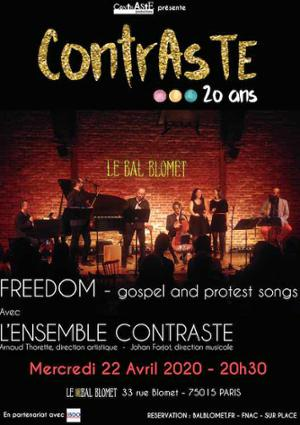 FREEDOM – PROTEST AND GOSPEL SONGS