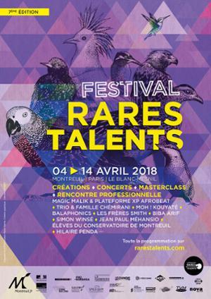FESTIVAL RARES TALENTS #7, CREATION PLATEFORME XP - AFROBEAT