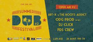 Summer Dub Festival - Open air gratuit ART-X & The Roots Addict