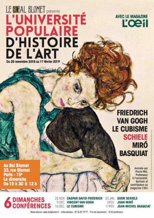 UNIVERSITE POPULAIRE D'HISTOIRE DE L'ART - EGON SCHIELE