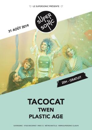 Tacocat (Sub Pop) en concert au Supersonic - Free entry