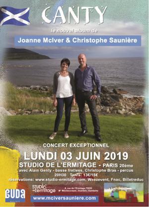 JOANNE MCIVER & CHRISTOPHE SAUNIÈRE