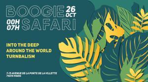 Boogie Safari : Around The World, Into the deep, Turnbalism