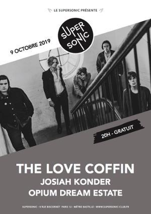 The Love Coffin • Josiah Konder • Opium Dream Estate / Supersonic