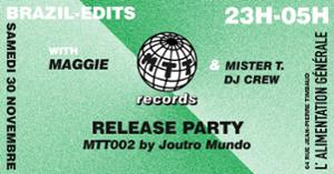 Mister T Records Release Party - MTT02 by Joutro Mundo
