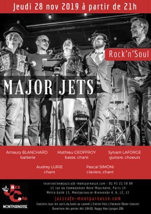 Major Jets au Jazz Café Montparnasse