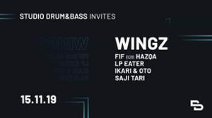 Studio Drum & Bass Invite Wingz
