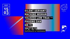 Concrete: Silent Servant, Machine Woman, Tolouse Low Trax (live)