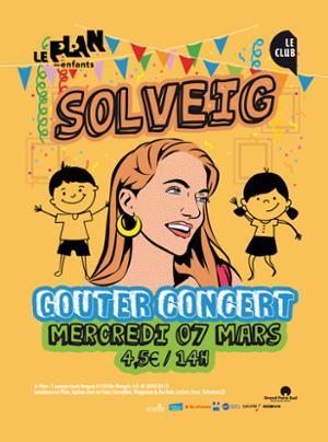 Gouter concert : SOLVEIG