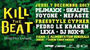 Kill The Beat Freestyle Cypher #2 Paris