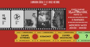 L'Avant-Première 1/4 Cui'staches x Caviars x Kosmos