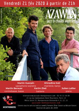Azawan au Jazz Café Montparnasse