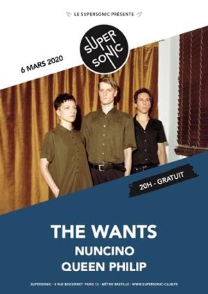 The Wants en concert au Supersonic (Free entry)