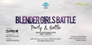 BLENDER GIRLS BATTLE