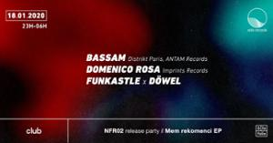 nifo records release party w/ Bassam & Domenico Rosa