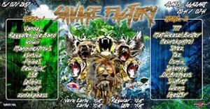 Savage Factory #2 : Festival Edition